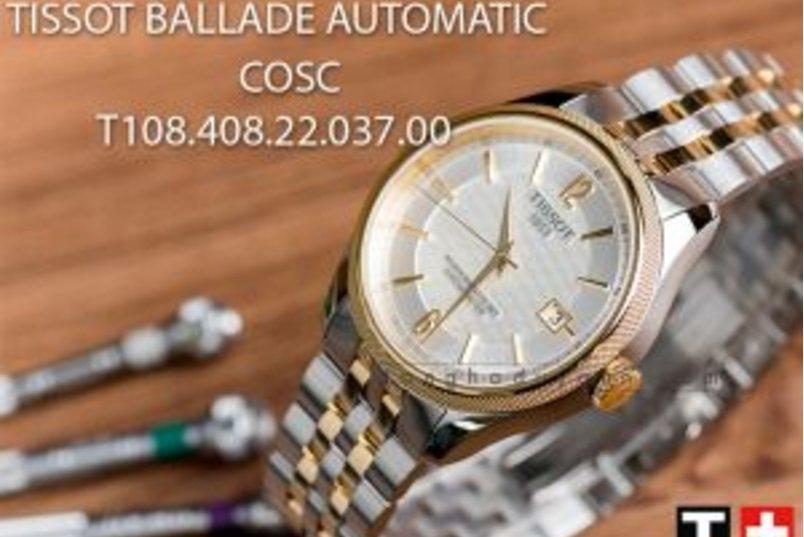 [Review - Đánh giá] Tissot Ballade Automatic COSC T108.408.22.037.00 – Nhịp nhàng từng vần thơ